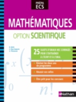 MATHEMATIQUES OPTION SCIENTIFIQUE PREPA ECS 2013
